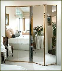Mirror Bifold Closet Door Mirror Bifold Closet Doors Stanley Mirror Design