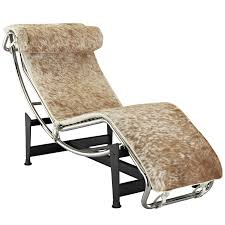 Bedroom Lounge Chairs Uk Le Corbusier Style Chaise Lounge Chair In Pony Hide Multiple