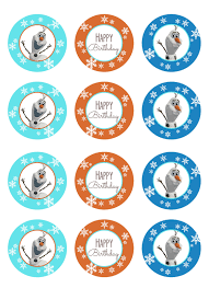 simple olaf birthday party cupcake diaries