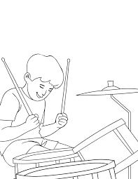 musical instruments coloring pages 27351 bestofcoloring com