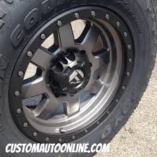jeep beadlock wheels custom automotive packages off road packages 18x9 fuel