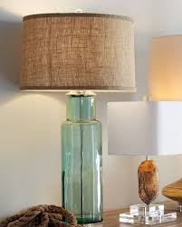 Recycled Glass Light Fixtures by Blue Green Recycled Glass Lamp