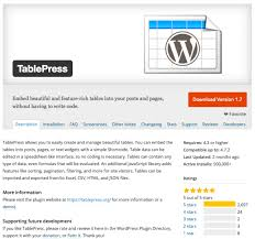 Wordpress Tables 5 Best Wordpress Table Plugins Free U0026 Paid Compete Themes