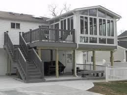best 25 two level deck ideas on pinterest deck design patio