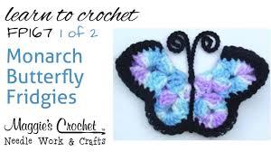 free crochet pattern fp167 monarch butterfly fridgies part 1 of
