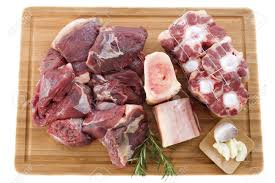 Cooking Board by Variety Of Meat For Cooking And Pot Au Feu On A Cooking Board
