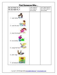 chores english vocabulary printable vocabulary exercises chores