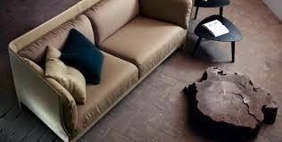 canap contemporain poltrona frau canapé contemporain en tissu en cuir 2 places alone by