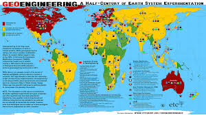 Weather Usa Map by Geoengineering Programs And Weather Modification Experiments