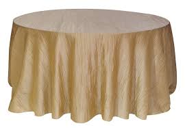 120 round tablecloth fits what size table 120 inch round crinkle taffeta tablecloth chagne crinkles
