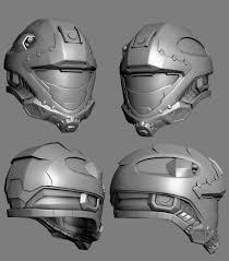 helmet design game recon helmet redesign low poly by mikejensen on deviantart