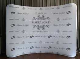wedding backdrop monogram step and repeat photography backdrop media wall paradise events