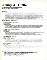 Resume For Recent College Graduate Template Sample Resume For High Students With Little Experience