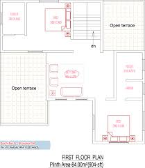 Kerala Home Design First Floor Plan by 2410 Square Feet 4bhk Double Floor Kerala Home Design With Plan