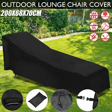 Patio Furniture Waterproof Covers - voilamart outdoor sun lounge chair cover patio furniture