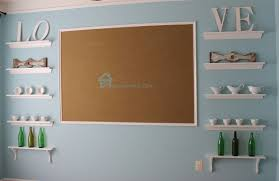 remodelando la casa shallow open shelves in dining room