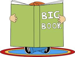 big book kid reading a big book clip kid reading a big book image