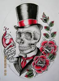 45 best american skull tattoo designs images on pinterest draw