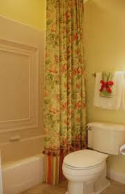 Shower Curtain To Window Curtain Sharing My Design Secrets Custom Shower Curtains And Liners