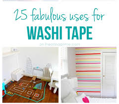 what is washi tape 25 excellent uses for washi tape i heart nap time