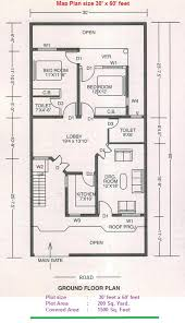 Home Design Plans 30 60 30 By 60 Feet House Plans