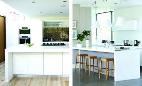 diy modern kitchens waterfall benchtop edges modern kitchen benchtop ideas diy bench