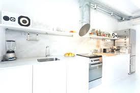 cuisines industrielles deco cuisine blanche par juanjo puig disseny despais trouvez plus de