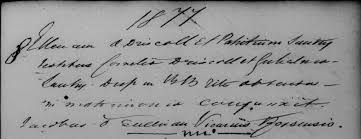 catholic marriage certificate in catholic parish registers