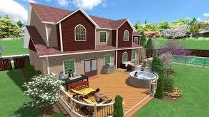 landscaping software gallery vivid 3d landscape designs deck