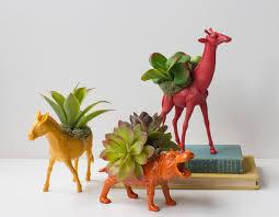 diy toy animal planter tutorial u2014 easy affordable and fun