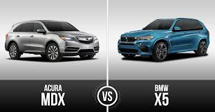acura vs bmw acura mdx vs bmw x5