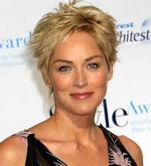 pictures on hairstyles for short hair women over 50 cute