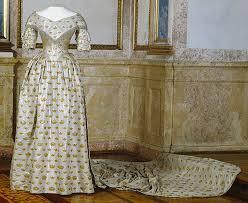 1844 queen jesefina u0027s coronation dress royal armoury skokloster