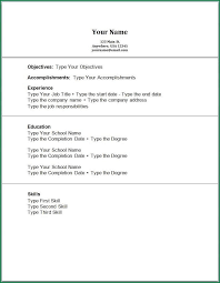 resume for no work experience students cv template no work
