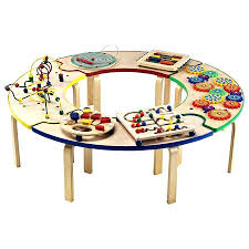 wooden activity table for kids activity table top10metin2 com