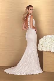 low back wedding dresses sheath high neck low back vintage lace wedding dress sweep