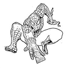 marvel coloring pages spiderman virtren com