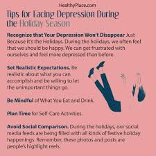 facing depression during the holidays 8 tips to get through