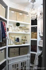 at home with nikki master closet tour u0026 organization tips