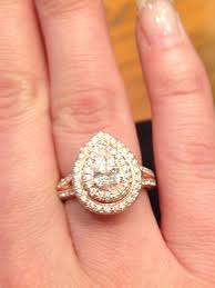 neil pear shaped engagement ring neil gold pear shape halo beautiful