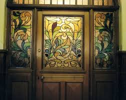 new stained glass internal doors in edwardian and victorian