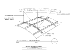 13 05 41 09 21 16 93 dwss interior ceiling seismic requirements