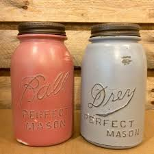 vintage mason jar canisters rustic kitchen decor mason jar soap