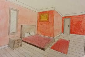 How To Draw A Bed A Room Drawn With Two Point Perspective By Alexcliffy92 On Deviantart