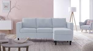 canap bleu ciel deco salon avec canape bleu gascity for