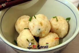 cuisine mauricienne chinoise les boulettes de poisson est une recette chinois très apprécié