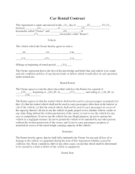 Sample Booth Rental Agreement 8 6 Best Images Of Car Rental Agreement Rental Car Agreement