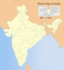 State Map Blank by Blank India Political Map