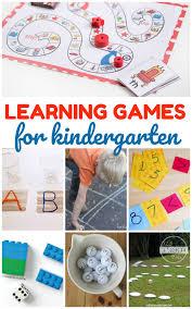 kindergarten worksheets and games activities