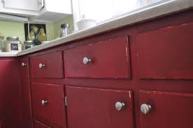 distressed red kitchen cabinets u2013 taneatua gallery